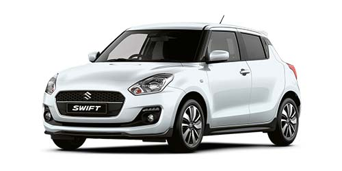 Suzuki Swift Attitude - Available In Pure White Pearl