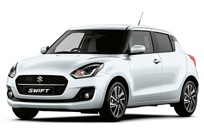 Suzuki Swift - Available In Pure White Pearl Metallic